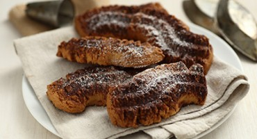 Biscotti di mais al cacao